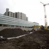 Landeskrankenhaus Hohenems vor Eröffnung