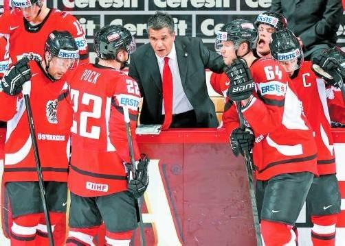 """Eishockey-Teamchef Manny Viveiros: """"Wir müssen in Österreich mehr und besser ausgebildete Spieler produzieren."""" Foto: gepa"""