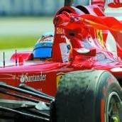 Alonso schenkte den Fans große Show