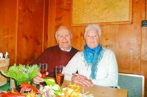 Gemeinsam haben sie ein wunderbares Leben verbracht.