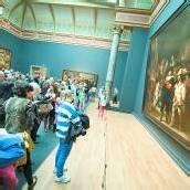 Rijksmuseum nach zehn Jahren eröffnet