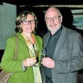 HTL-Direktor Herbert Hug mit Doris Hagen.