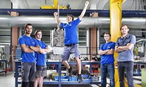 Hightech-Unternehmen bietet Sprung in eine erfolgreiche Karriere. Foto: Lercher
