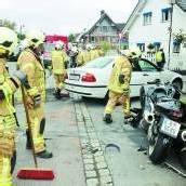 Pkw gegen Motorrad: Ein Verletzter in Höchst