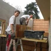 Bauarbeiten am Hotel Krone in Dornbirn laufen