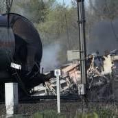 Chemie-Waggon explodiert: Ein Toter und 49 Verletzte