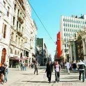 Shoppen auf der Istiklal Caddesi