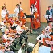Sinfonieorchester der Musikschule Bregenzerwald zeigte sich bei Händel mit allen Wassern gewaschen