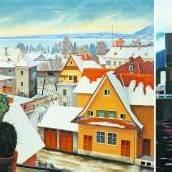 Malerei von Rudolf Wacker (1893–1939) und seiner Enkelin Alexandra Wacker (geb. 1958) in einer Ausstellung vereint