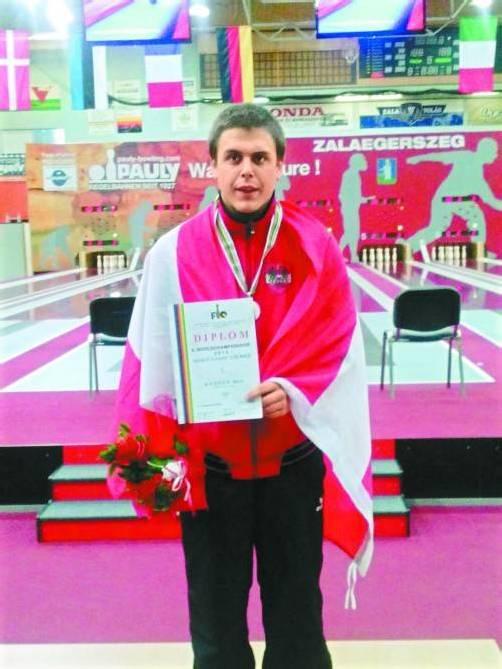 Mario Gruber holte WM-Silber in der U-18-Klasse. Foto: privat
