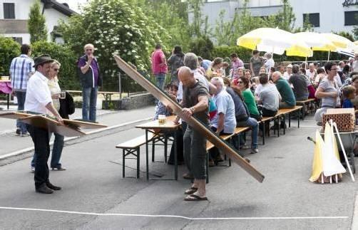 Meter für Meter ein Fest – Götzis feiert am Pfingstmontag den 3. Götzner Festmeter. foto: kultur götzis