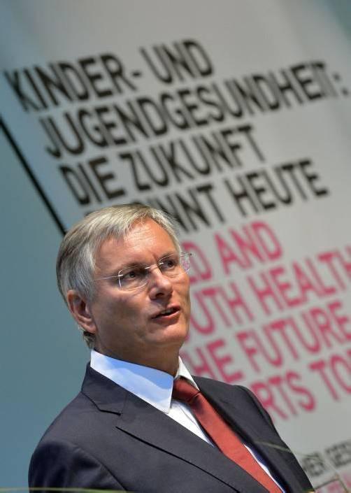 Minister Stöger (SPÖ) präsentierte das Gesundheitsbarometer.
