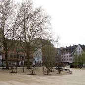 Der Kornmarktplatz wird eröffnet