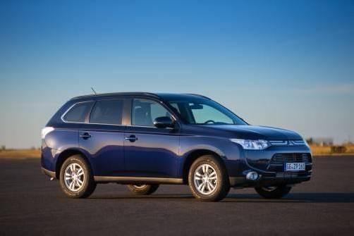 Mitsubishi Outlander, sicherstes Auto Japans. Foto: werk
