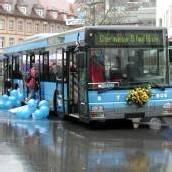 Stadtbus am Kornmarkt