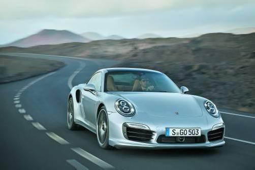 Porsche hat gestern die ersten Bilder des neuen 911 Turbo veröffentlicht. Fotos: werk