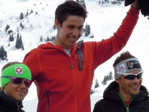 Sieger bei den Junioren: Matthias Dietrich. Foto: privat
