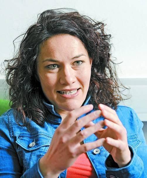 Tirols Grünen-Chefin Ingrid Felipe: Vor Regierungsamt? Foto: APA