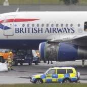 Notlandung: Heathrow zeitweise geschlossen
