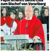 Benno wird Bischof von Feldkirch