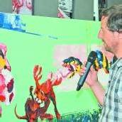 Direkte Begegnung mit Kunstwerken