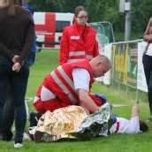 Spielerin verletzt ins Spital