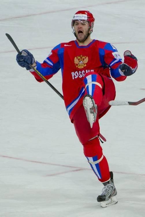 WM-Star Alexander Radulow spielt für Ufa in der KHL. Foto: EPA
