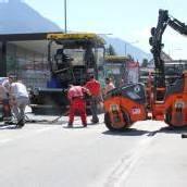 Straßensperre in Bludenz heute aufgehoben