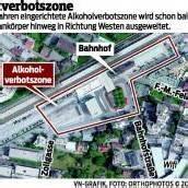 Bahnhofszene hat sich in Dornbirn verlagert