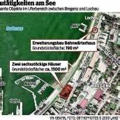 Bau weiterer Gebäude am See geplant
