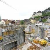 Montforthaus-Neubau voll im Zeitplan