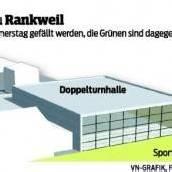 Rankweil: Uneinigkeit über Turnhallen-Neubau