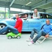 Skoda-Fahrzeuge für die Übersee-Athleten