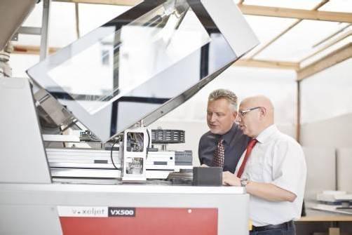1zu1-Prototypen-Geschäftsführer Hannes Hämmerle und Wolfgang Humml (l.). Foto: Darko Todorvic