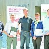Auszeichnungen für Lorünser Gemeindeamt