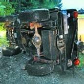 Unter Jeep eingeklemmt