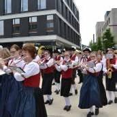 Viel Musik zur Eröffnung am Garnmarkt