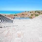 Mosaike beim Kourion-Theater