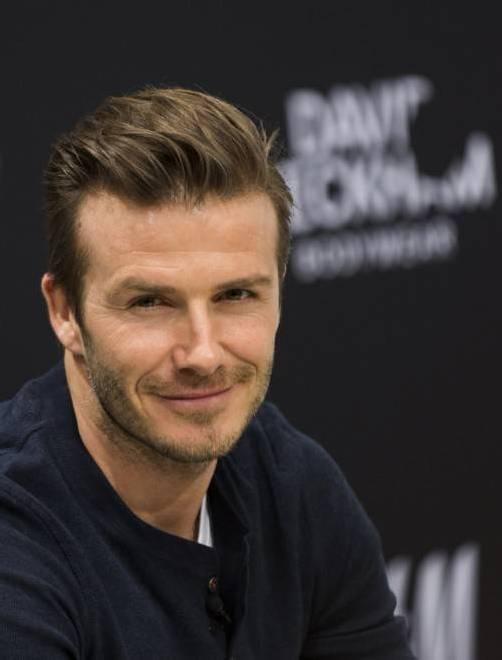 David Beckham will Tochter Harper beschützen. Foto: AP