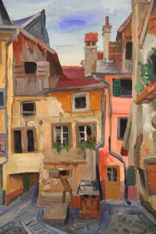 """Der Bregenzer Rudolf Wacker (1893 bis 1993) ist im Kunsthandel des Landes Vorarlberg nach die vor das """"Maß aller Geschäfte""""."""