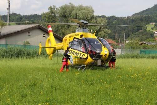 Der Bub erlitt schwere Verletzungen und wurde ins Spital geflogen.