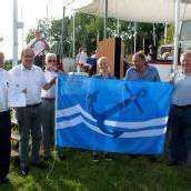 Blauer Anker weht wieder im Lochauer Hafen