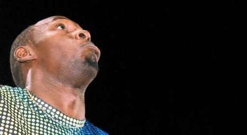 Die Reaktion sagt alles: Usain Bolt war mit seinem 100-m-Auftritt in Rom nicht zufrieden. Foto: apa