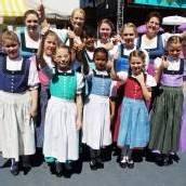 Vorarlbergs Trachtenjugend tanzte auf