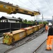 Gleissanierung der ÖBB in Feldkirch angelaufen