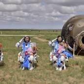 Shenzhou 10 nach Rekordflug gelandet