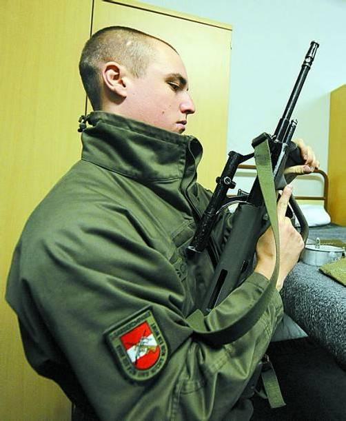 Grundwehrdiener: Cybersicherheit als Betätigungsfeld. Foto: APA