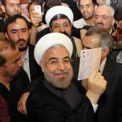 Hoffnungspräsident für Iran und die Welt