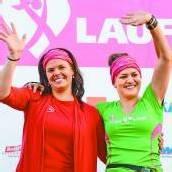 Flottes Ständchen für 4000 sportliche Frauen