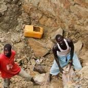 Grubenunglück in Zentralafrika